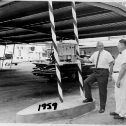 1959 The Drivein Bob Hepler-Left Dale Anspaugh-Right