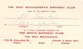 1960 Birthday Club